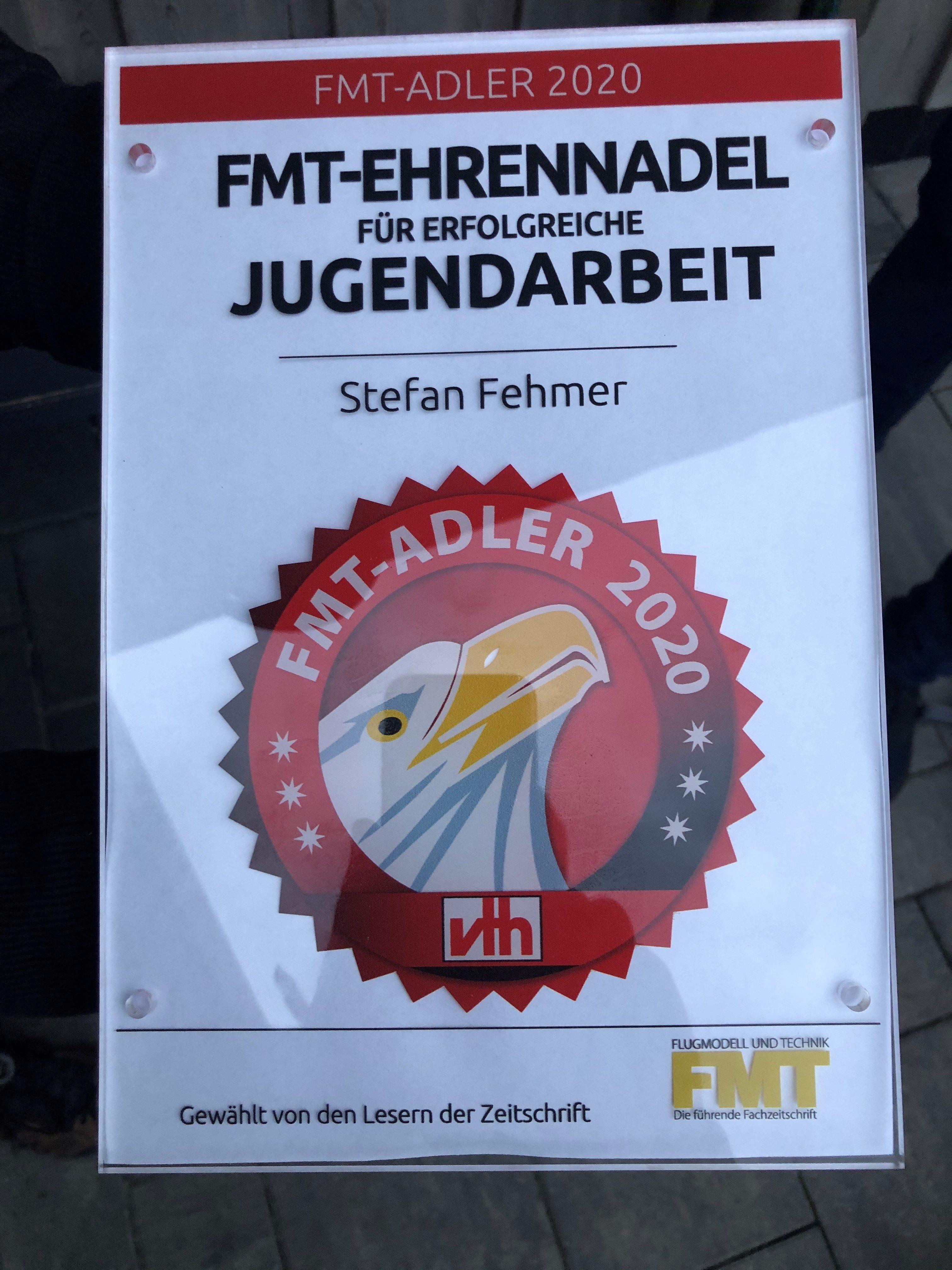 Auszeichnung der FMT